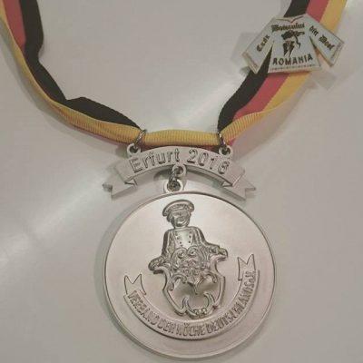 medalie argint erfurt germania concurs culinar ika daniel bratescu casa boierului din deal